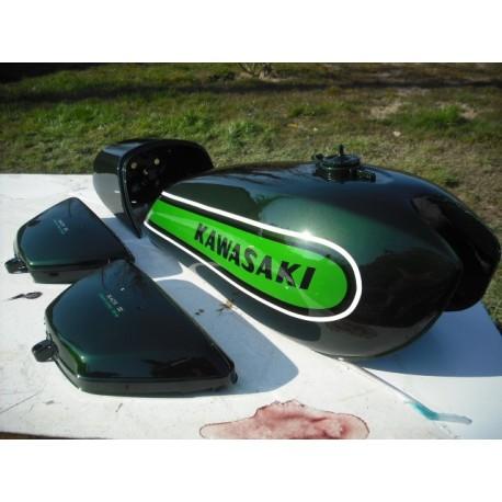 Kit peinture kawasaki 500 H1E 74 Candy Green