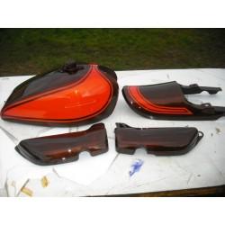 Kit peinture kawasaki Z 900 72/73 Fireball