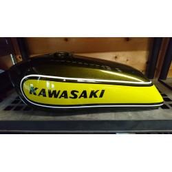 Kit peinture kawasaki 500 H1D 73 Candy Lime