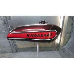 Kit peinture kawasaki 500 H1E 74 Candy Red