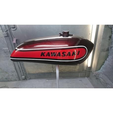 Kit peinture kawasaki 500 H1E 74 Candy Red
