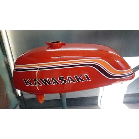 Kit peinture kawasaki 500 H1B 1972 Pearl Candy Orange
