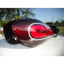 Kit peinture kawasaki 500 H1D 73 Candy Red
