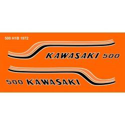 Déco Kawasaki 500 H1B 1972