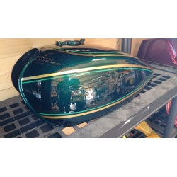 Kit peinture kawasaki Z 900 76 diamond dark green