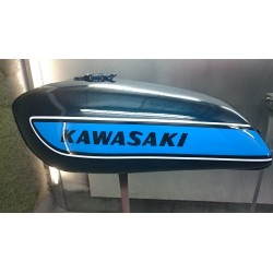 Kit peinture kawasaki 500 H1F 75 CANDY SKY BLUE