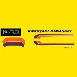 Déco Kawasaki 250 F11