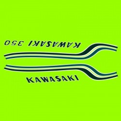Déco Kawasaki big horn 350
