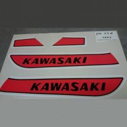 Déco Kawasaki  400S3A 1975
