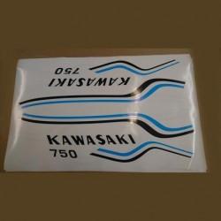 Déco Kawasaki  750 H2 1972
